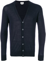 Ballantyne v-neck fitted cardigan