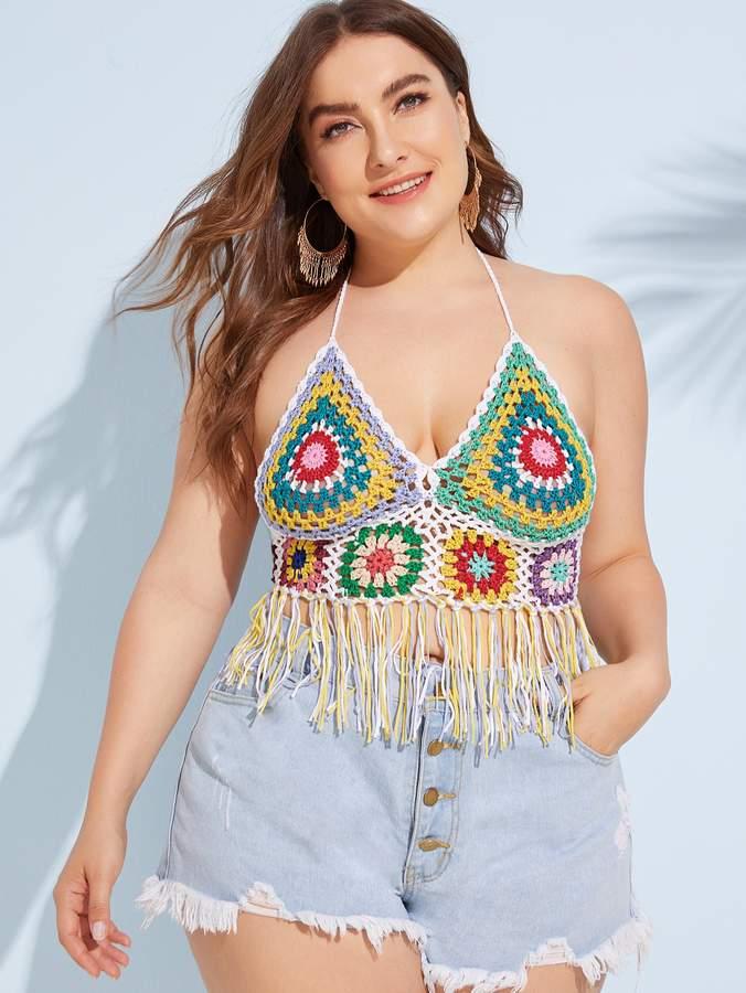 0c46eade58 Plus Size Crochet Swimwear - ShopStyle