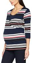 Mama Licious MAMALICIOUS Women's Mldione Tess 3/4 Jersey NF Maternity Long Sleeve Top,(Manufacturer Size: Large)