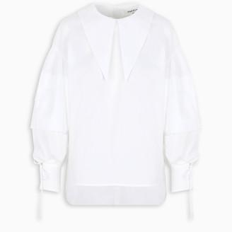 Enfold White flared shirt
