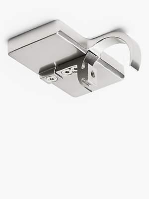 John Lewis & Partners Revolution Multi-Functional Pole System Flush Ceiling Bracket, 30mm