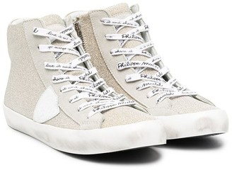 Philippe Model Kids Granville high-top sneakers