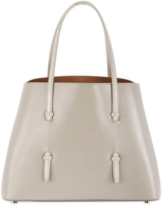 Alaia Mina Medium Calf Top-Handle Bag