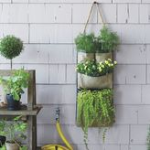 west elm Bag Planter - Hanging