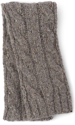 Prada Cable Knit Scarf