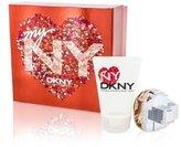 DKNY My NY The Heart Of The City Coffret: Eau De Parfum Spray 50ml/1.7oz + Body Lotion 100ml/3.4oz - 2pcs