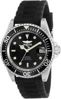 Invicta 23678 Silver-Tone & Black Pro Diver Watch