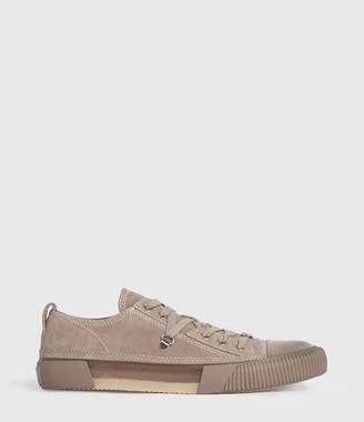AllSaints Jazmin Suede Low Top Sneakers