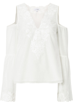Exclusive for Intermix Cambria Lace Detail Top