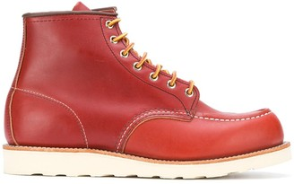 Red Wing Shoes Classic Mock Toe boots