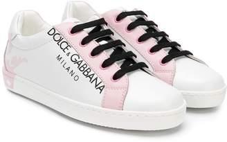 Dolce & Gabbana logo printed sneakers