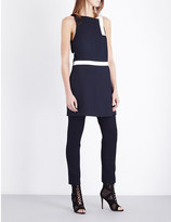 Dion Lee Whitewash Utility crepe mini dress