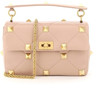 Valentino Roman Stud Chain Shoulder Bag