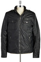 William Rast Faux Leather Moto Jacket