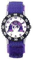 Disney Monsters University-- W001133's Watch Analogue Quartz White Dial, Bracelet, Nylon Blue