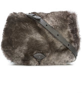 Henry Beguelin leather cross body bag - women - Leather/Rabbit Fur - One Size