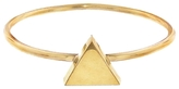 Jennifer Meyer Mini Triangle Ring - Yellow Gold
