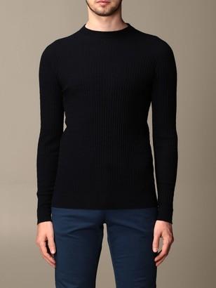 Giorgio Armani Sweater Sweater In Wave Virgin Wool Blend