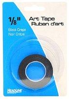 HeadLine Graphic Art Tape black 1/8 in. [PACK OF 6 ]