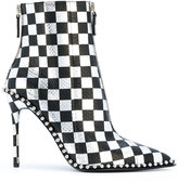 Alexander Wang checked boots