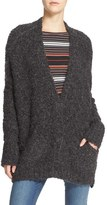 Free People Women's Boucle V-Neck Cardigan