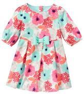 Gymboree Floral Corduroy Dress