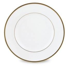 Lenox Continental Dining Gold Accent Plate