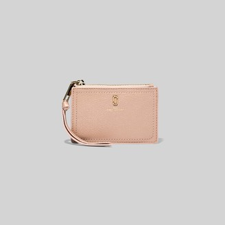 Marc Jacobs The Softshot Pearlized Top Zip Multi Wallet