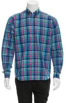 Eton Plaid Button-Up Shirt w/ Tags