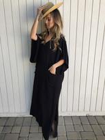 Tysa River Nymph Dress in Black