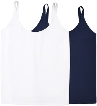 La Redoute Collections Plus Pack of 2 Cami Vests