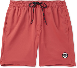 Outerknown Logo-Appliqued Shell Drawstring Shorts