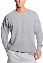 Russell Athletic Men's Big-Tall Long Sleeve Crew Neck Pullover Fleece, Heather Grey, 4X-Large/Tall