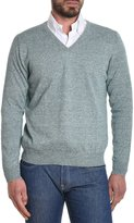 Eleventy Men's 979Ma0021cal190057 Linen Sweater