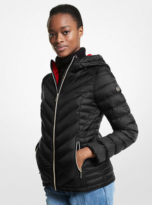 Michael Kors Quilted Nylon Packable Puffer Jacket