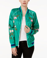 GUESS Arya Embroidered Bomber Jacket