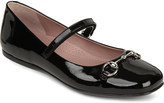 Gucci Lillian mary jane patent leather ballet shoe 8-9 years