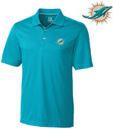 Cutter & Buck Men's Miami Dolphins DryTec Glendale Polo Shirt