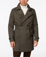 Tommy Hilfiger Men's Lester Dark Olive Trench Raincoat