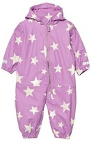 Ticket to Heaven Rain Suit Kody Authentic Rubber Allover Violet Rose