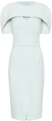 Safiyaa Stretch-crepe dress