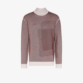 A-Cold-Wall* Two Tone Merino Wool Jacquard Sweater