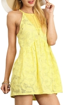 Umgee USA Halter Neckline Tunic Dress