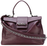 Casadei chain-trimmed tote bag