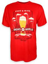 Disney Epcot International Food & Wine Festival Brews Around the World 2017 T-Shirt for Men
