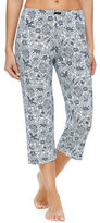 Ellen Tracy Patterned Cropped Pants
