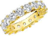Amour 5 CT TW Diamond 14K Gold Eternity Wedding Band
