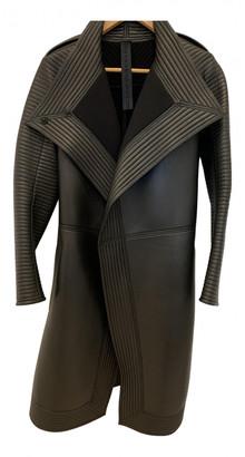 Gareth Pugh Black Leather Coats