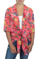 LOVEleigh Flirty Floral Kimono