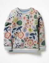 Boden Cosy Printed Sweatshirt